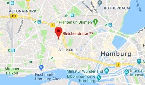 Google Übersichtsbild für Bleicherstraße 77